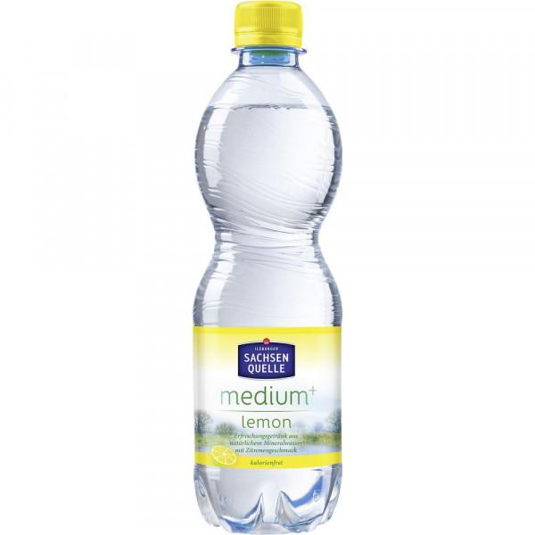 Lemon Mineralwasser, Medium+