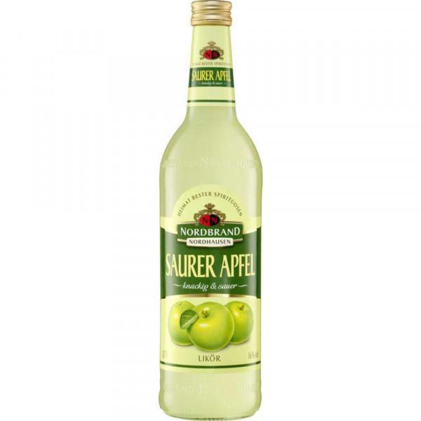 Fruchtlikör Saurer Apfel 16%