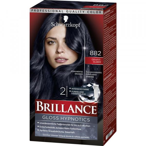 """Haarfarbe """"Brillance"""", 882 Grafit-Silber"""