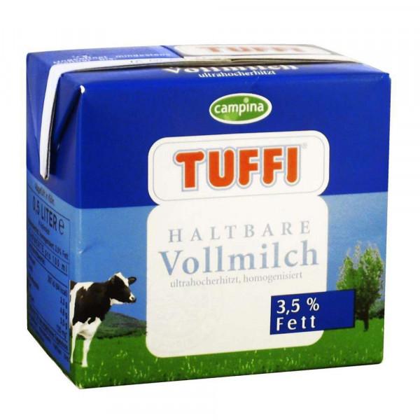 """Haltbare Vollmilch """"Tuffi"""", 3,5% Fett"""