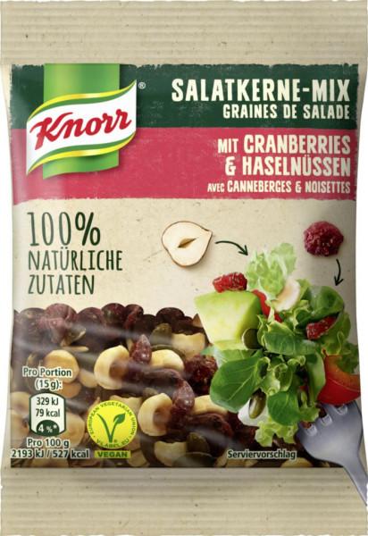 Salatkerne-Mix, Cranberries & Haselnüsse