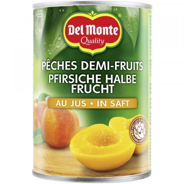 Pfirsiche 1/2 Frucht in Saft, natursüß