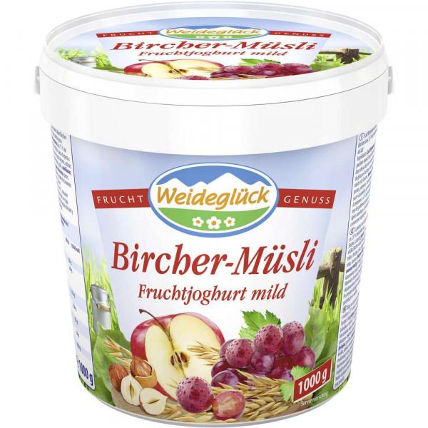 Fruchtjoghurt, Bircher-Muesli