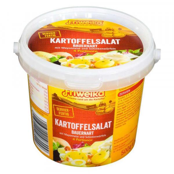 Kartoffelsalat, Bauernart