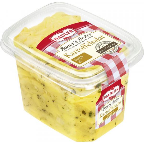 Bauers Bester Kartoffelsalat, Essig/Öl
