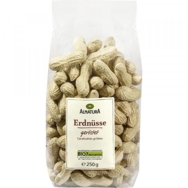 Bio Erdnüsse, geröstet & in Schale