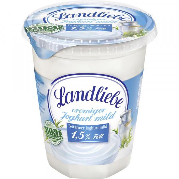 Naturjoghurt 1,5%, fettarm