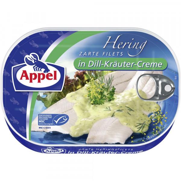 Heringsfilets, Dill/Kräuter
