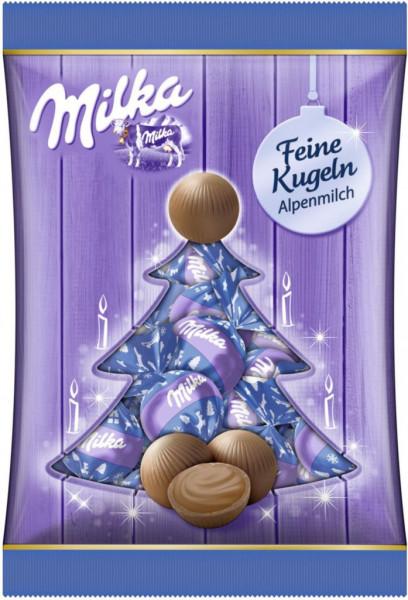 Schokoladen-Kugeln, Alpenmilch
