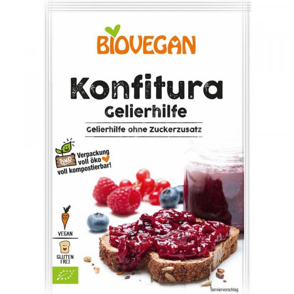 """Bio Gelierhilfe """"Konfitura"""", ohne Zuckerzusatz"""