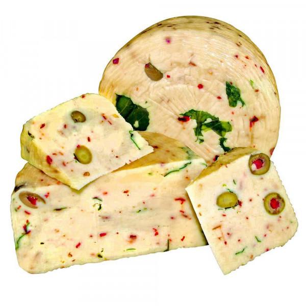 Pecorino Olive, Peperoni, Rucola