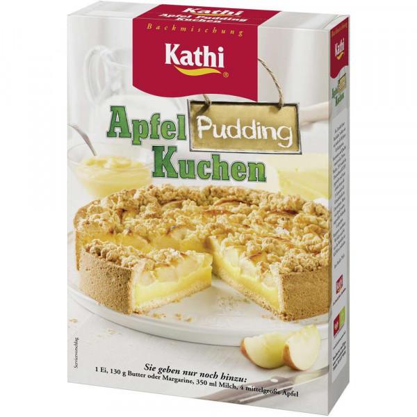 Apfel Puddingkuchen