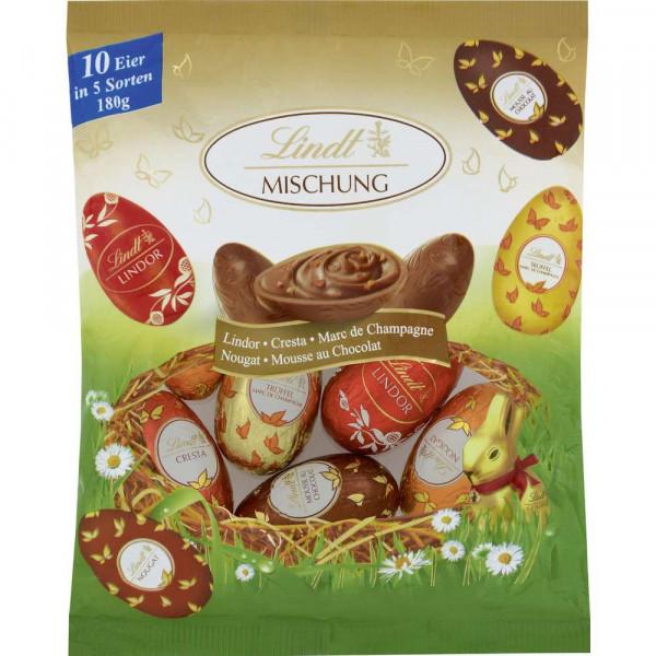 Schokoladen-Eier, Mischbeutel