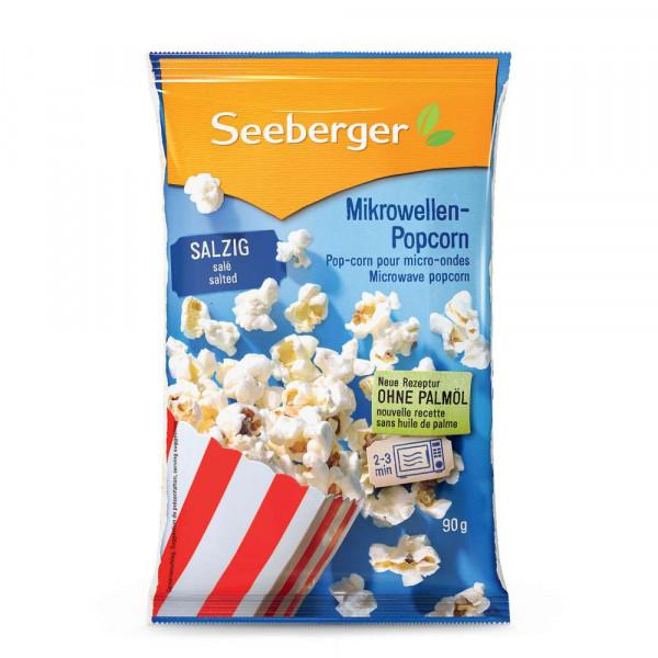 Mikrowellen-Popcorn salzig