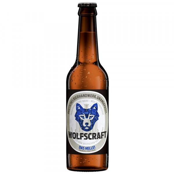 Das Helle! Bier Bio 4,9% (24 x 0.33 Liter)
