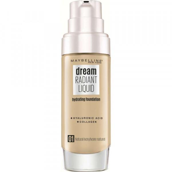 Make-Up Dream Radiant Liquid, Natural Ivory 01
