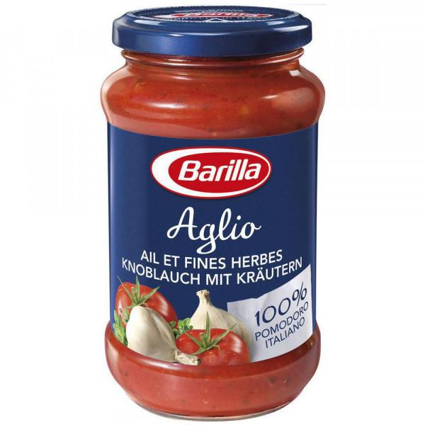 Pasta Sauce Aglio mit Tomaten, Rotwein & Kräutern