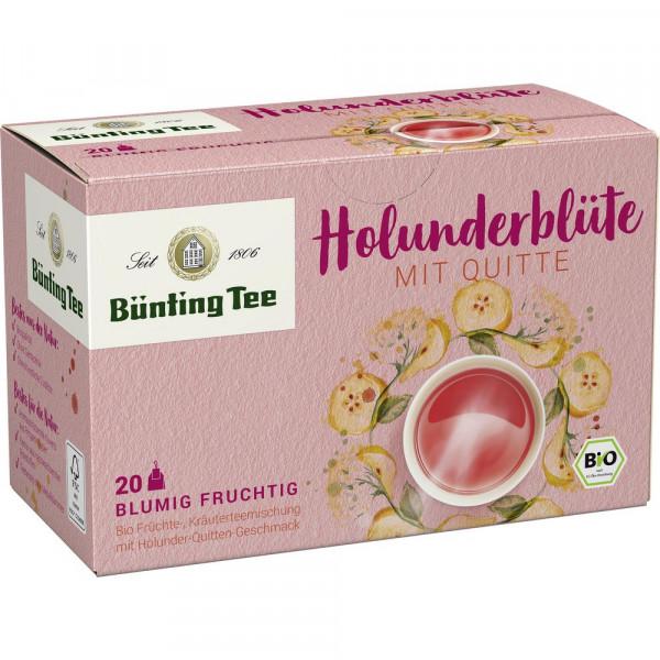 Bio Tee Holunderblüte-Quitte