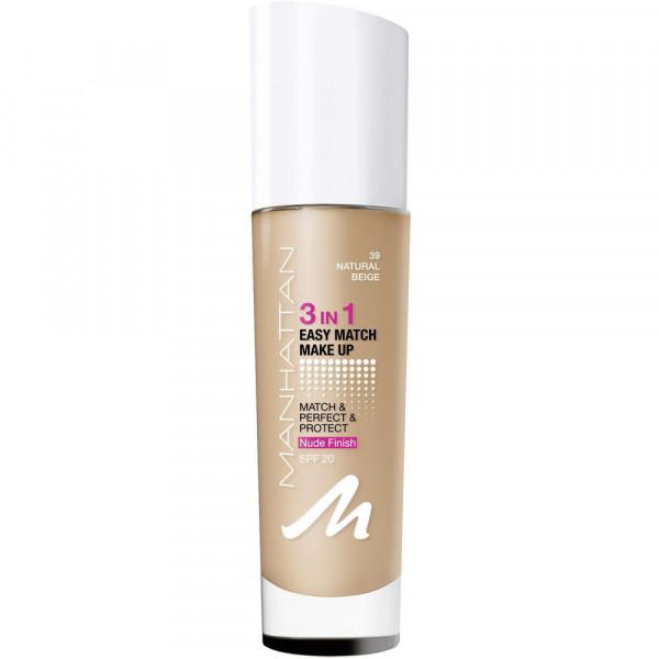 Make-Up Easy Match 3 in 1, Natural Beige 39