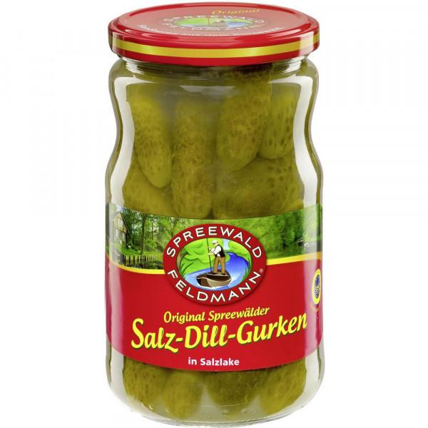 "Salz-Dill-Gurken ""Original Spreewälder"", in Salzlake"