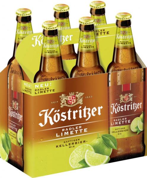 Kellerbiermix, Radler Limette (6 x 3 Liter)