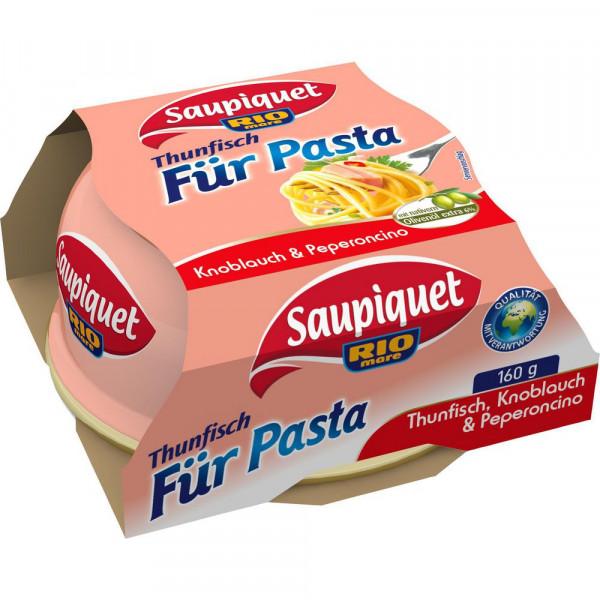 Thunfisch für Pasta, Knoblauch & Peperocino