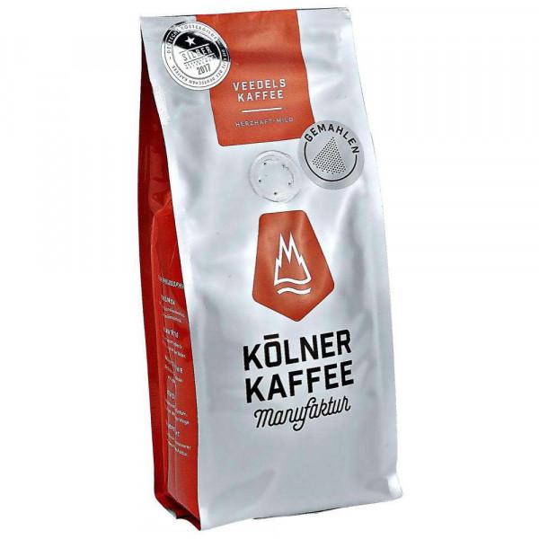Veedels Kaffee, gemahlen