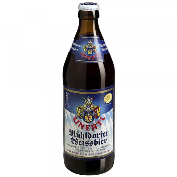 Mühldorfer Weißbier 5% (20 x 0.5 Liter)