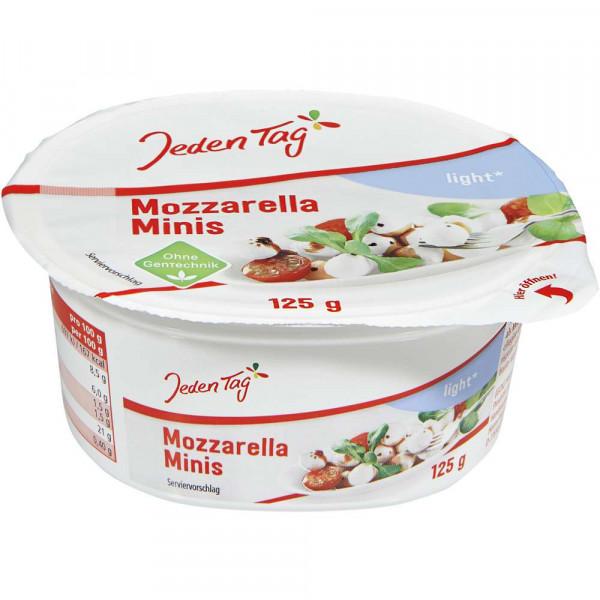 Mozzarella, Minis light