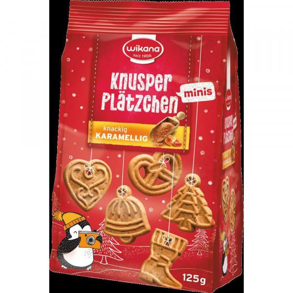 "Mini Knusper-Plätzchen ""Karamell"""