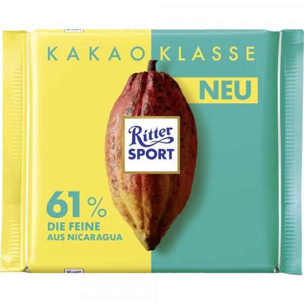 Tafelschokolade Kakao-Klasse 61%, Nicaragua