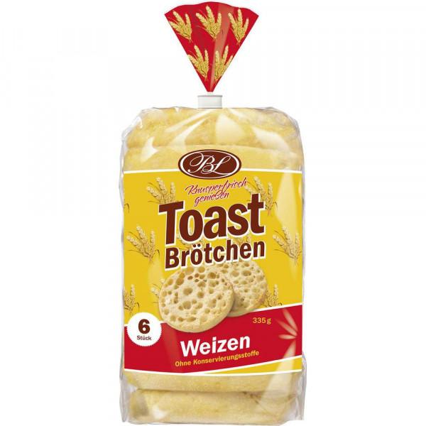 Toastbrötchen, Weizen