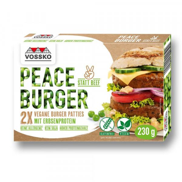 Vegane Burger Patties, tiefgekühlt