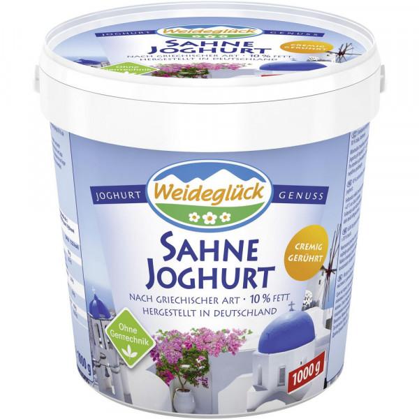 Sahnejoghurt, Griechische Art