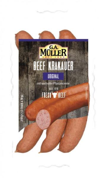 Beef Krakauer, Original