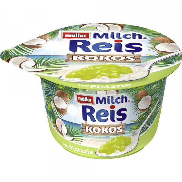 Milchreis, Kokos/Pistazie