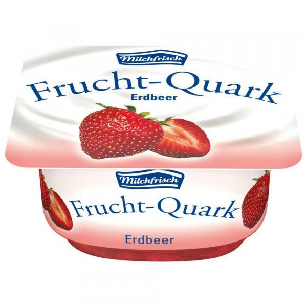 Fruchtquark, Erdbeere