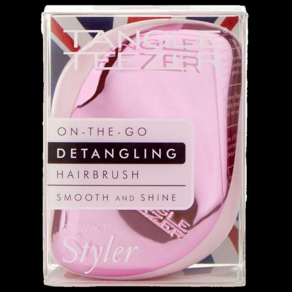Haarbürste, rosa