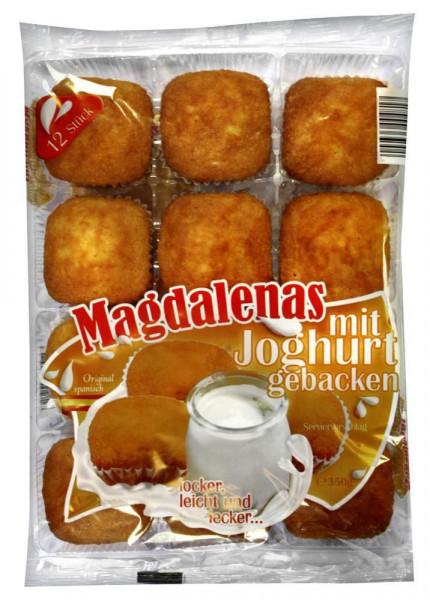 Magdalenas, Joghurt