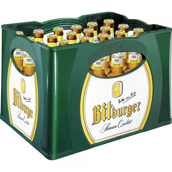 Biermischgetränk Radler 0,0%, alkoholfrei (24 x 0.33 Liter)