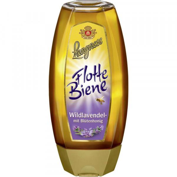 Flotte Biene Wildlavendel Honig