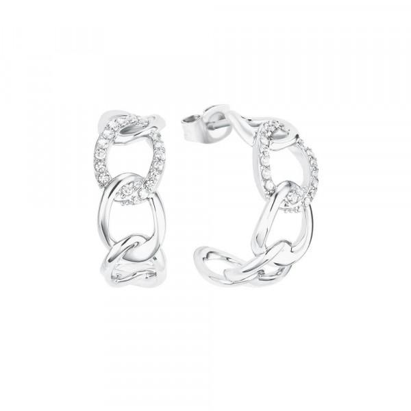 Ohrringe/ Creolen aus Silber 925 mit Zirkonia (4056867023801)