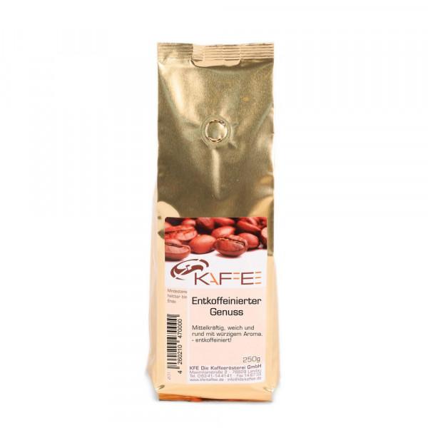 "Kaffee ""Entkoffeinierter Genuss"""