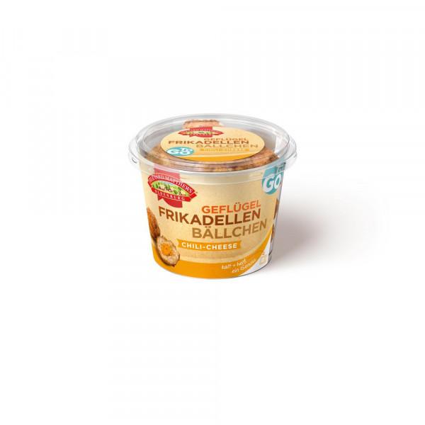 """Frikadellen-Bällchen """"Chili Cheese"""", Geflügel"""