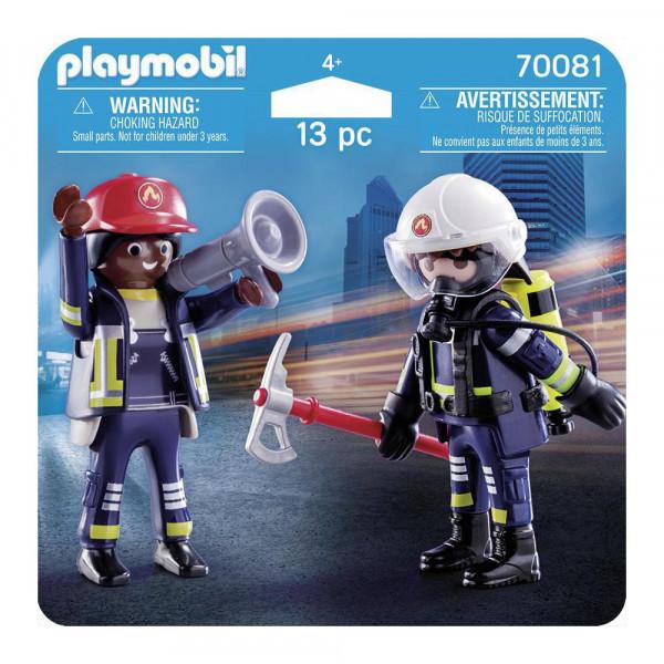 PLAYMOBIL 70081 DuoPack Feuerwehrmann und -frau