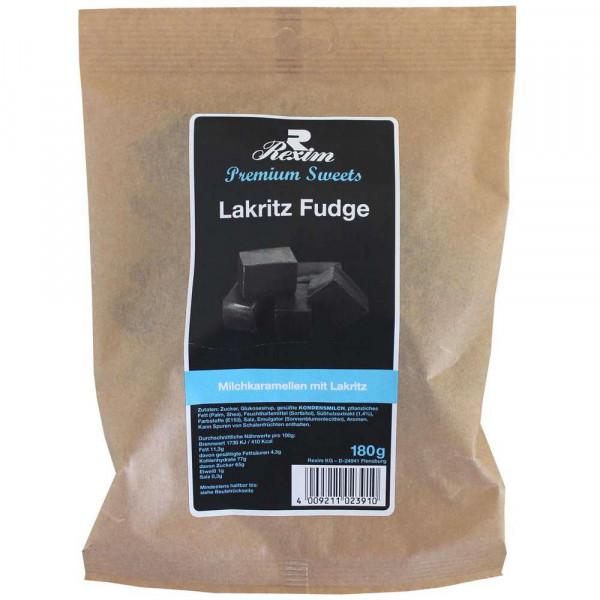 Lakritz Fudge