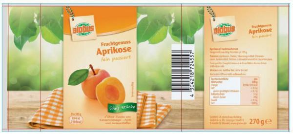 """Fruchtaufstrich """"Fruchtgenuss"""", Aprikose"""