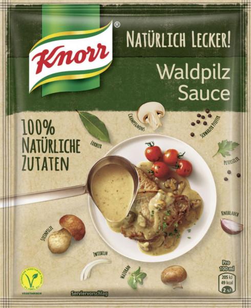Sauce, Waldpilz