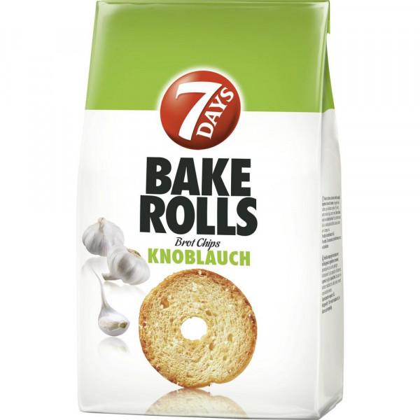 "Brotchips ""Bake Rolls"", Knoblauch"