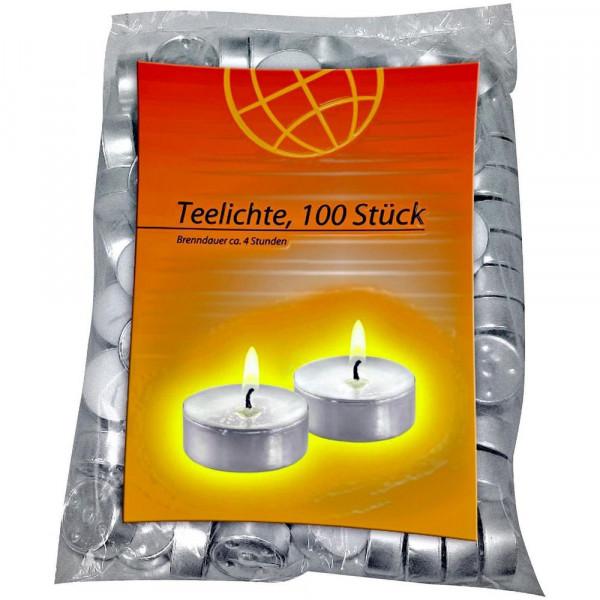 Teelichter 100er Flatpack